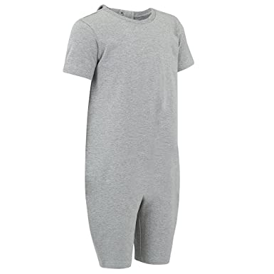 5fc9cf6546e8 Amazon.com  Special Needs Clothing for Older Children (3-16 Yrs Old) - Zip  Back Jumpsuit for Boys   Girls by KayCey  Clothing