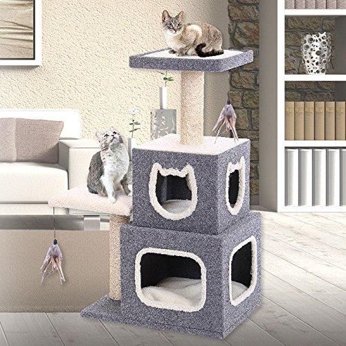 PENN PLAX Cat Life Duplex Lounge