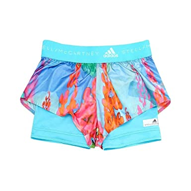 2489d8b717098 Image Unavailable. Image not available for. Color: adidas Women's Stella  McCartney Run 2-in-1 Printed Shorts ...