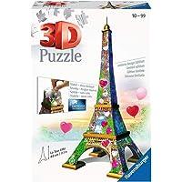 Ravensburger La Tour Eiffel Love Edition 3D 216 Pieces Jigsaw Puzzle