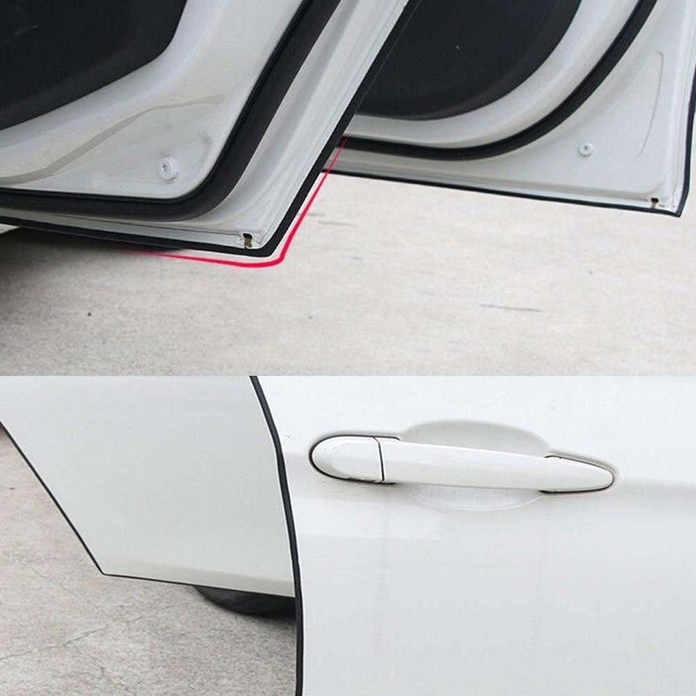 FeiyanfyQ 500 cm Auto-T/ürkantenschutz Zierleiste Anti-Dellen Kratzstreifen