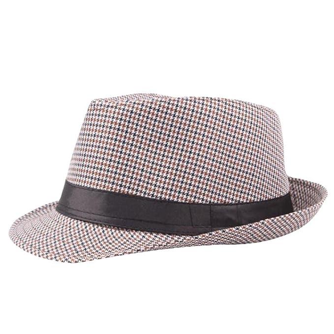 Rawdah- Hot sale!!Cappello Panama in stile Fedora originale - arrotolabile  - tessuto a mano.-cappello da sole unisex pieghevole estivo a tesa larga 0bb8fe1c3887