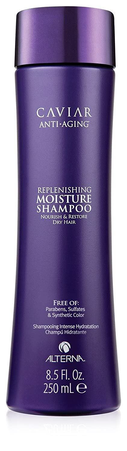 Caviar Anti Aging Replenishing Moisture Shampoo by Alterna for Unisex - 8.5 oz Shampoo 0873509015130