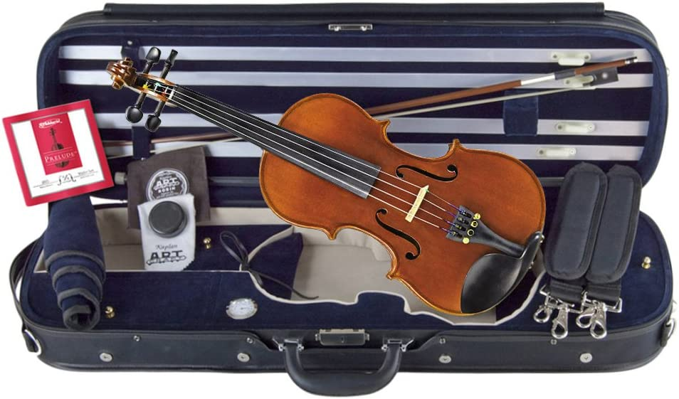 Louis Carpini G3 Violin 4/4 Full Size Clearance Bundle By Kennedy Violins