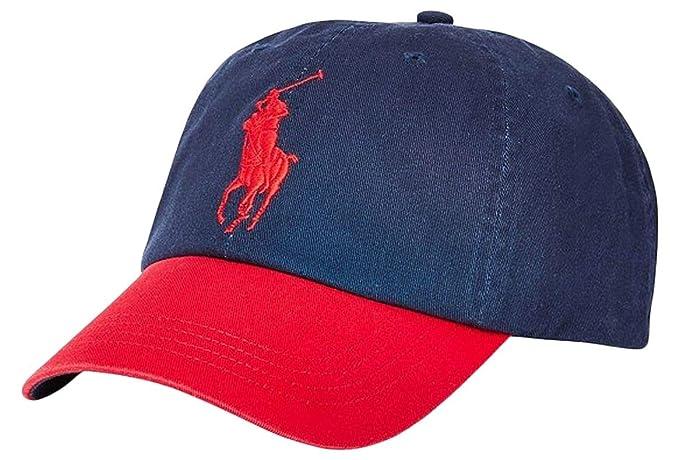 Ralph Lauren Newport Navy RL2000 Red - Gorra de béisbol (algodón ...