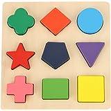 Better baby 木のおもちゃ 幾何認知 形合わせ 積み木 型はめ パズル 幼児 知育玩具 a1