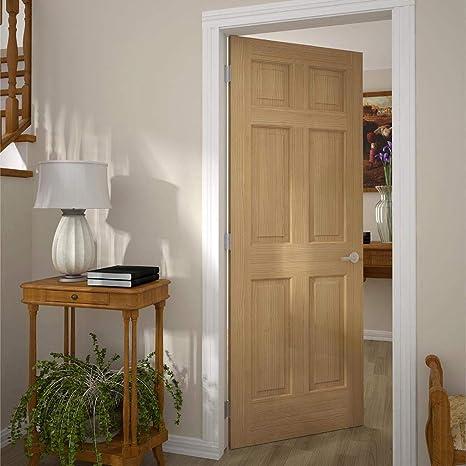Amazon.com 6-Panel Door Interior Slab Solid Pine (80x30) Home Improvement & Amazon.com: 6-Panel Door Interior Slab Solid Pine (80x30): Home ...