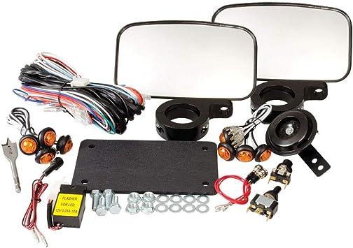 Tusk Universal 12 Volt LED Flasher Turn Signal Blinker Relay UTV ATV SXS For LED