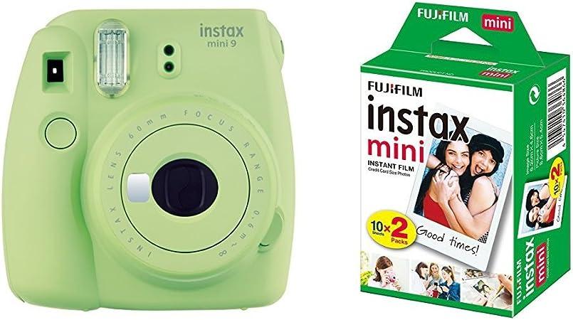 Fujifilm Instax Mini 9 Kamera Lime Grün Mit Film Kamera