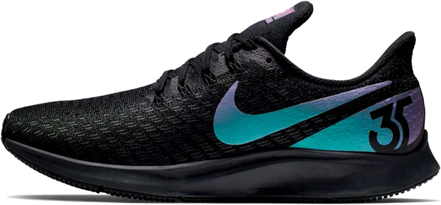 Nike Men s Air Zoom Pegasus 35 Running Shoes, Black Laser Fuchsia-Anthracite US 11