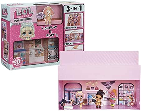 LOL Surprise - Pop Up Store Playset con Muñeca Exclusiva (Giochi Preziosi LLU42000): Amazon.es: Juguetes y juegos