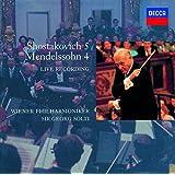 ショスタコーヴィチ:交響曲第5番/メンデルスゾーン:交響曲第4番「イタリア」