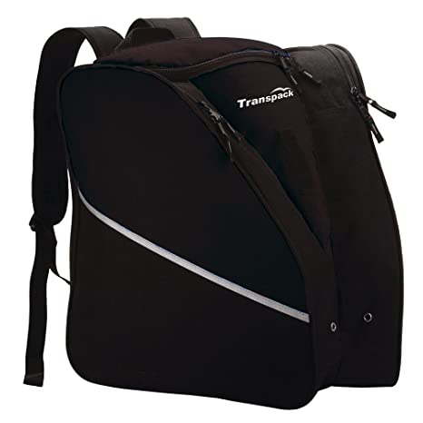 Amazon.com   Transpack Alpine Boot Backpack - Black   Ski Bags ... 1984cabe50537