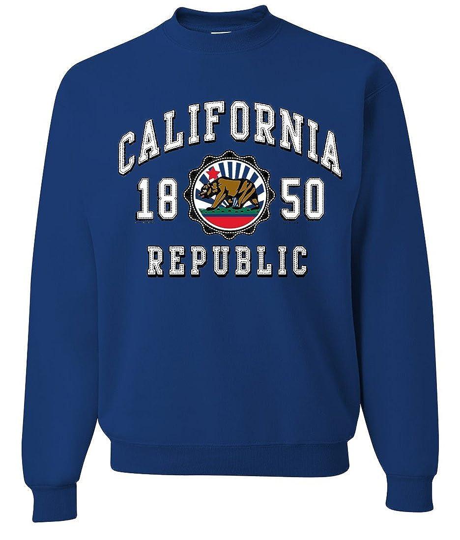 Dolphin Shirt Co California Republic 1850 Emblem Crewneck Sweatshirt