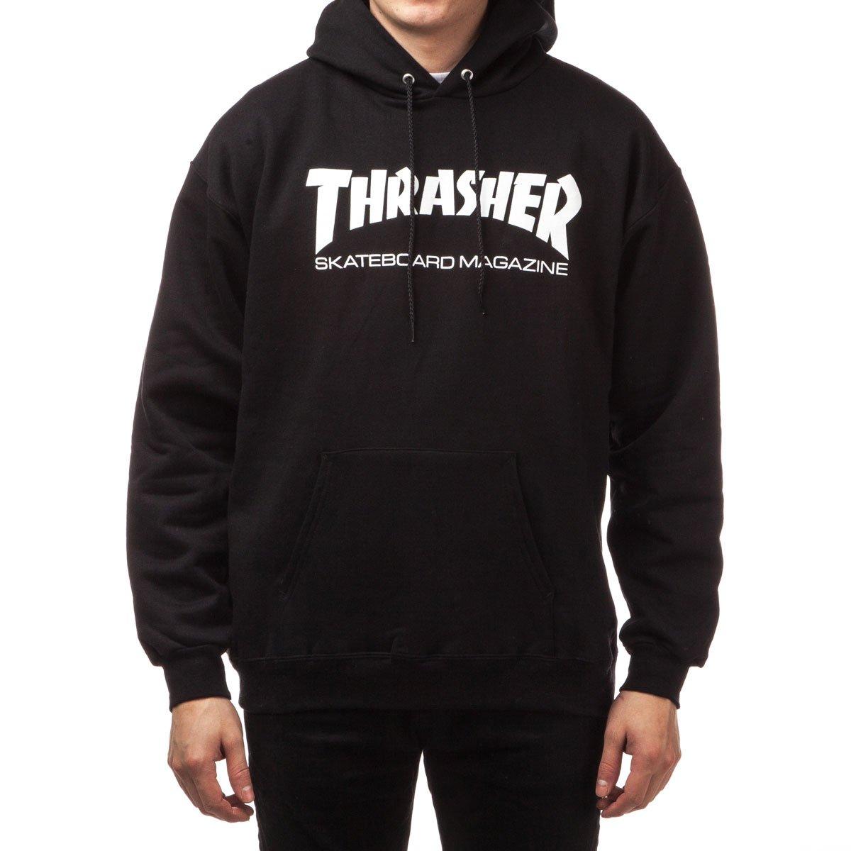 cb082cda1276 Amazon.com: Thrasher Skate Mag Hoodie - Black: Clothing