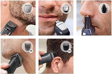 Philips MULTIGROOM Series 3000 Cara y cabello 9 en 1 MG3757/15 ...