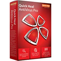 Quick Heal Antivirus Pro Latest Version -  2 PCs, 3 Years (DVD)