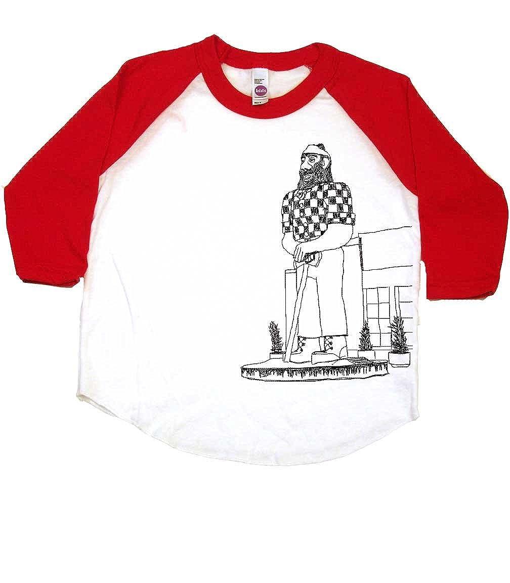 Cool Kid Clothes Portland Oregon Paul Bunyan Cool Toddler T-Shirt