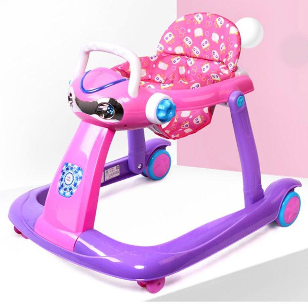 HAIZHEN マウンテンバイク PP +布ベビーウォーカー6/7-18ヶ月幼児のアンチロールオーバー多機能玩具は、折り畳むことができる折り畳み式の赤ちゃんキャリッジ座ることができます68 * 58 * 59センチメートル 新生児 B07DMP9QV8 3 3