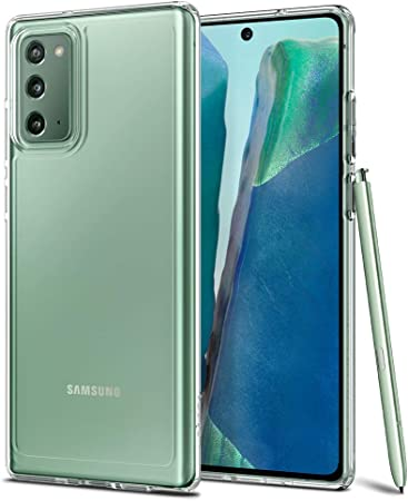 Spigen Ultra Hybrid Hülle Kompatibel Mit Samsung Galaxy Note 20 Crystal Clear Elektronik