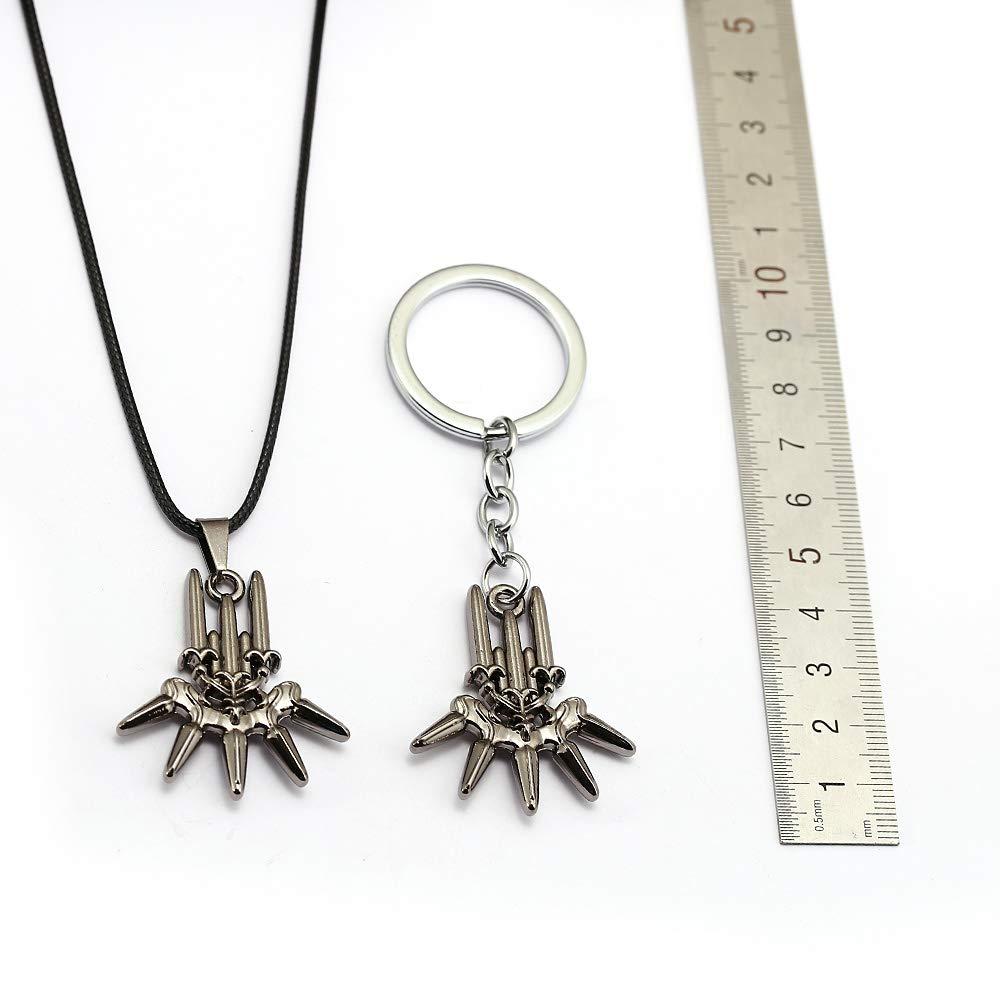 Amazon.com: Mct12 - NieR Automata Keychain Metal Key Ring ...