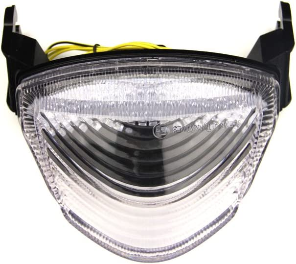 Feu Stop Led Clignotants Int/égr/és GSXR 1000 2005-2006 K5 K6 Transparent