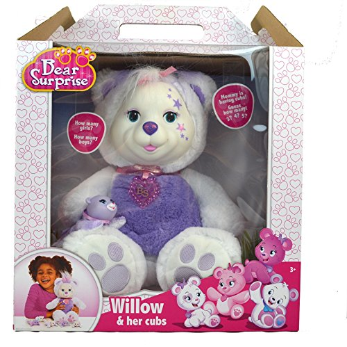 Bear Surprise Willow & her cubs (Surprise Teddy Bear)