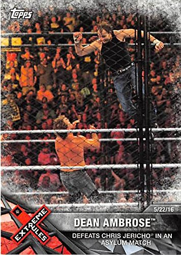 dean ambrose trading cards - 6