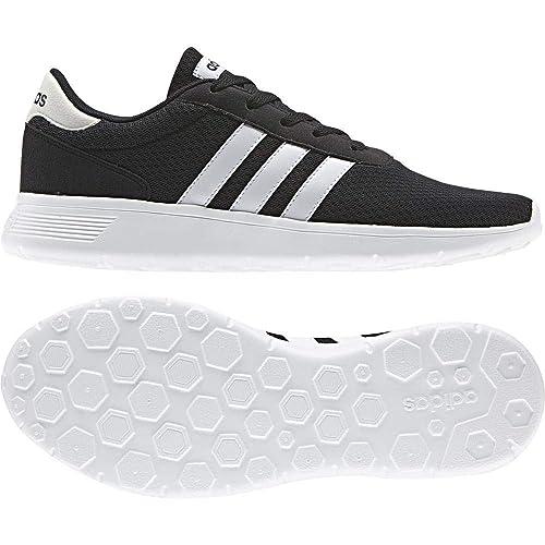 buy online 183d5 3fbd5 adidas neo Men s Lite Racer Cblack Ftwwht Ftwwht Running Shoes - 11 UK