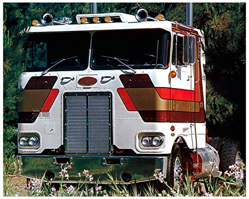 1975 Peterbilt COE Truck Photo Poster from AutoLit