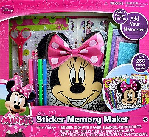Tara Toy Minnie Mouse Sticker Memory Maker