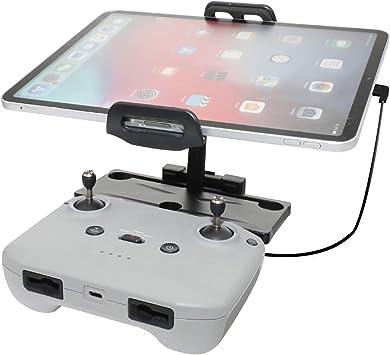 Opinión sobre STARTRC 4-11 Pulgadas Soporte de Tableta Plegable de aleación de Aluminio con Cable para dji Mavic Air 2 Accesorios para el Control Remoto