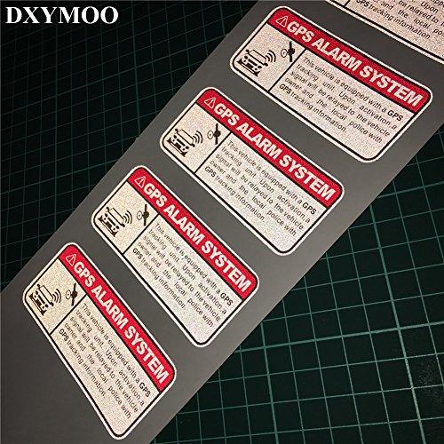 durable modeling DXYMOO 4PCS Warning GPS ALARM SYSTEM Tracking Anti
