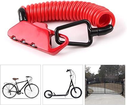 LieYuSport Candado Bicicleta Alta Seguridad,Bloqueo de Bicicleta ...