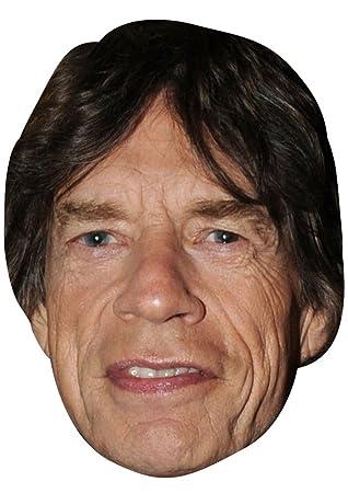 Keith Richards Rolling Stones Celebrity Singer Band Card Mask