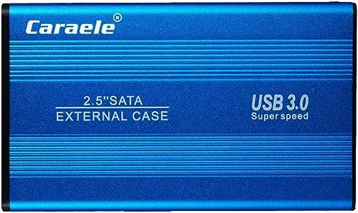 perfk HDD 外付け ポータブル 2.5インチ USB3.0 SATA ハードディスクドライブ 超薄 - 500GB