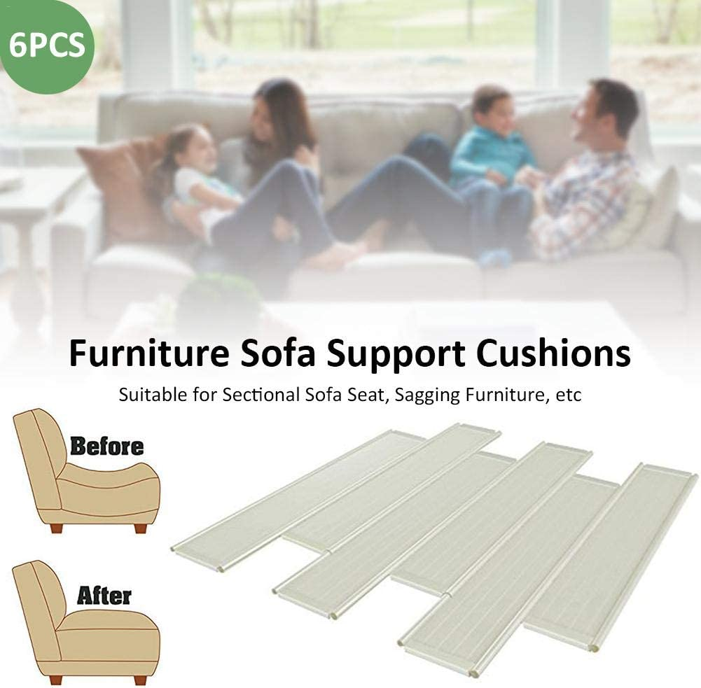 cosyhouse Sofa Cushions Support Extra Thick Sagging Furniture Cushion Support Insert Support And Lift Sagging Furniture Seat Saver 6 Pack Extend The Life Of Your Sofa