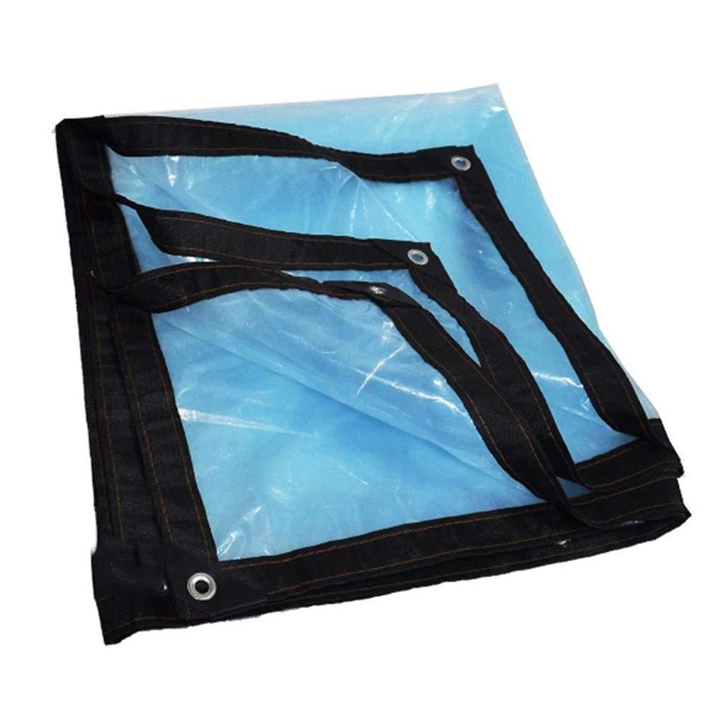 ターポリン アイレットが付いている明確な絶縁材の防水シート防風性の防水性の防水シートシートの流された布の風邪引きの抵抗力があるテント - 120g /m² (Size : 4mx7m) B07SD43QF1  4mx7m