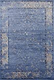 Cheap 3536 Distressed Blue 5 x 7 Area Rug Carpet Large New