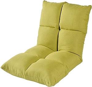 Xiao Tian Portable Multi-Purpose Lazy Single Sofa,Living Room Furniture Recliner (Color : Fruit Green)