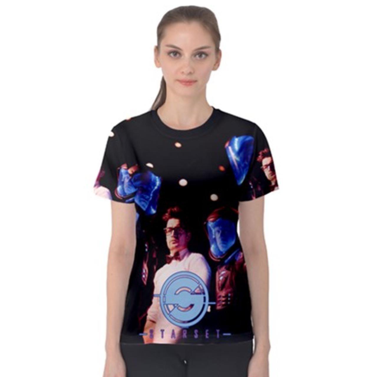Starset Women 's Tee Fullprint TシャツサイズM   B0753KRMS9