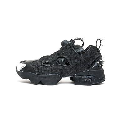 Reebok Men s Sneaker Instapump Halloween in Denim E Pelle Nera   Amazon.co.uk  Shoes   Bags 0d68af94b