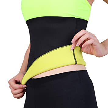 2f9e8f01d59a7 Miss Moly Women Hot Thermo Sweat Neoprene Shapers Slimming Belt Waist  Cincher Girdle for Weight Loss