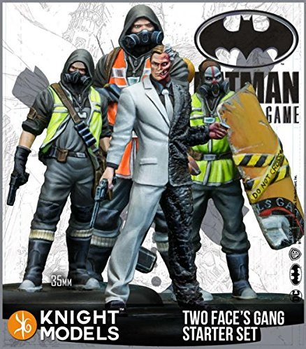 Batman Miniature Game: Two Face's Gang Starter Set (2nd Edition) (Resin)