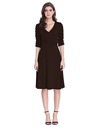 Cocktail Dresses with Ruching