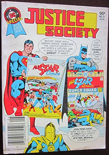 Justice Society - Dc Special Blue Ribbon Digest, Vol. 1, No. 3, July/Aug, 1980