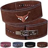 Mytra Fusion Leather Weight Lifting Power Lifting Back Support Belt Weight Lifting Belt