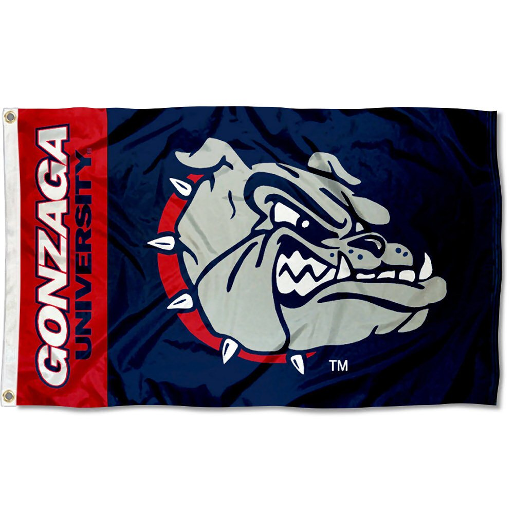 Gonzaga Bulldogs Zags University Large College Flag