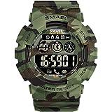 ATAとU- Bluetoothの活動の追跡者が付いているSMAELの険しい屋外スポーツのスマートな腕時計