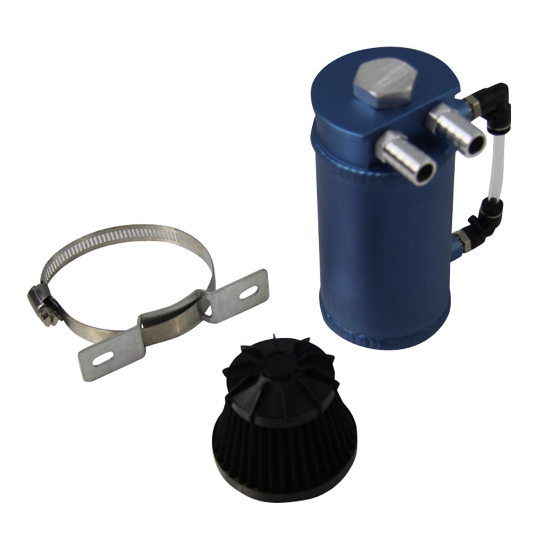 ALLOYWORKS Pro Aluminum Oil Reservoir Catch Can Tank W/ Breather Filter Baffled by ALLOYWORKS (Image #4)
